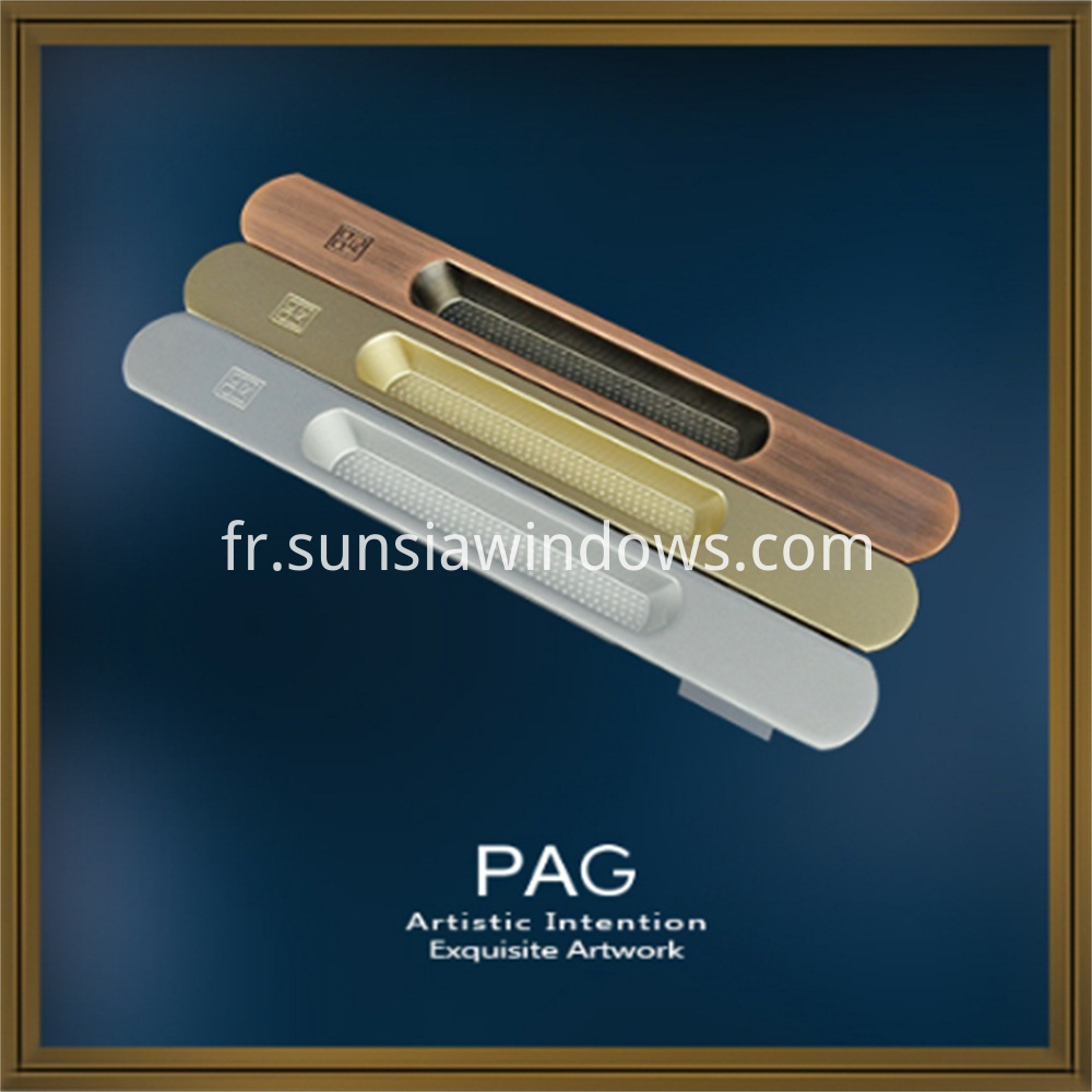 High Quality Zinc Alloy Door or Window Sliding Pull Handles