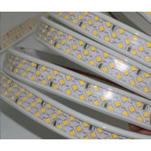 Ultra super lumineux 180leds / m bande blanche chaude éclairage 220v led bande 2835