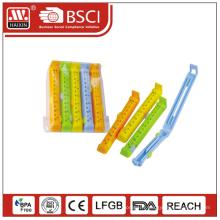 Haixing clips de sachet en plastique, sac plastique pinces, clips d'étanchéité