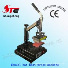 Chapéu manual de 8 * 15cm / tampão da máquina imprensa do calor do tampão / máquina transferência térmica Stc-Km04 do chapéu