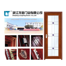 Aluminium Bathroom Door with Glass