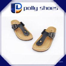 Summer Popular Style Men PU Soft Slipper