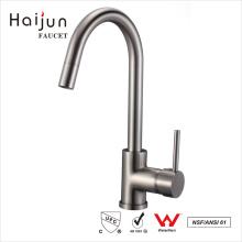 Haijun 2017 alta calidad comercial de latón de cuerpo latón fregadero de cocina grifos