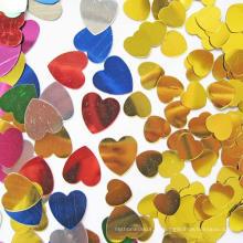 Herzform PET Glitter