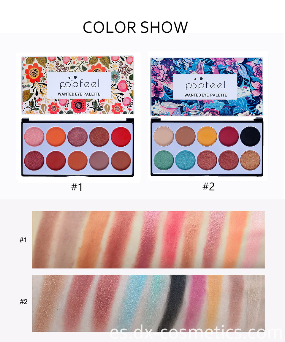 10 Colors Eye Shadow 5
