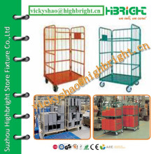 warehouse equipment rust proof steel roll cage