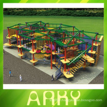 2015 Hot Sale Large Rope Course Adventure Quality Choice