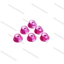 2018 Nouvelle Arrivée couleur rose M5 profil bas CW CCW Flange Écrou pour jouet RC