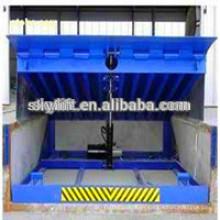 Hydraulic warehouse telescopic dock leveler