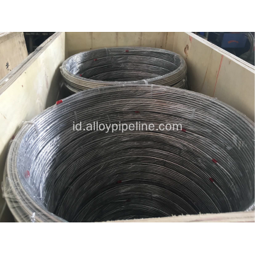 6.35MM 20 SWG Bright Annealed Coiled Tubing S30908