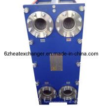 Edelstahl 316 Platten-Dampf-Kohlenstoffstahl-Düsen-Wärmetauscher