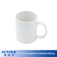 11oz White Coated Sublimation Ceramic Printed Mugs