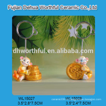 Новый держатель для карточек животных из полирезина для прямых продаж на заводе