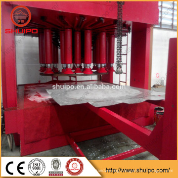 aluminum dished end making machine