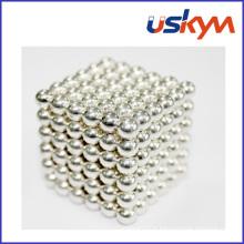 Boule magnétique en argent Buckyball Balls Toy (T-014)