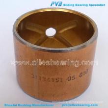 BIMETAL KÖNIG PIN BUSH, ADP. No.180345M1 BUSHING, 35.0X31.6X37.97 Artikelnummer 24432055 / No.WB004 BEARING