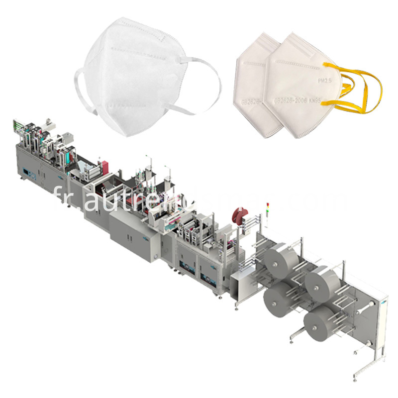 Face Protective Mask Making Machine