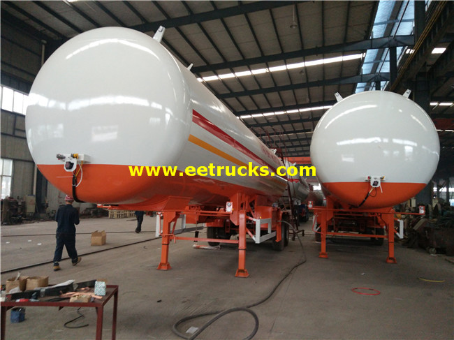 40cbm LPG Transportaion Trailers