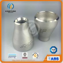 Réducteur de SS con Pipe raccord réducteur concentrique à ASME B16.9 (KT0065)