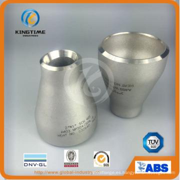 Reductor de SS Con. tubo accesorio reductor concéntrico a ASME B16.9 (KT0065)