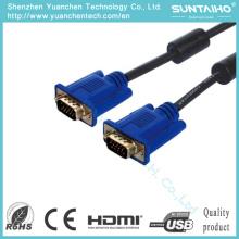 Nuevo cable VGA de 15 pines macho a macho para audio