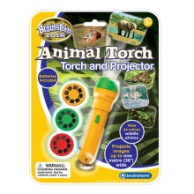 Animal Torch & Projector Educational Toy Childrens