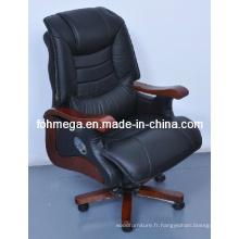 Fabrication en cuir Direction pivotante Chaise de bureau Foh-1237