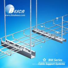 Bandeja de cabo de malha de arame de alumínio Fabricante China