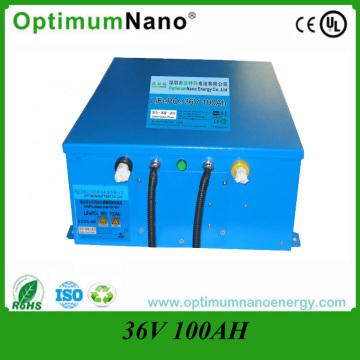 36V 100ah литий-ионная морская батарея