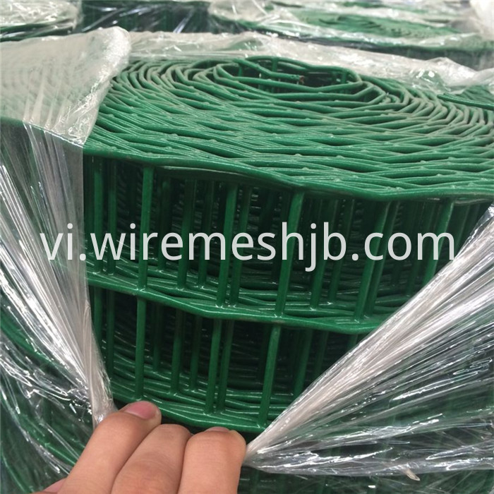 PVC Coated Euro Mesh Fence