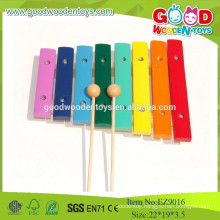 2015 Mini Colorful 8 Musical Notes Wooden Xylophone ,Musical Toys Instrument