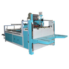 semi-auto Carton folder gluer folding gluing machine/carton packing machine
