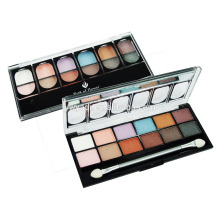 Hottest waterproof 12 color wholesale chinese cosmetics