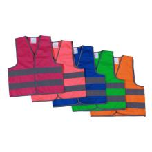 EN1150 reflective safety vest for children