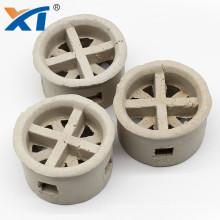 Heat and acid resist ceramic random tower packing 76mm 50mm cascade mini ring
