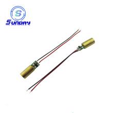 Module de laser de croix de module de laser rouge de petite taille 5mw DC3V-5V