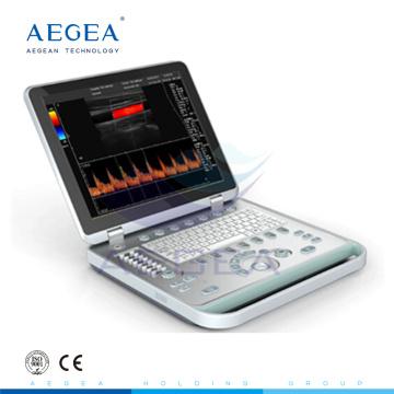 АГ-BU005 Продвинутый и удобный больницу ноутбука цветовую допплеровскую ультразвуковую систему
