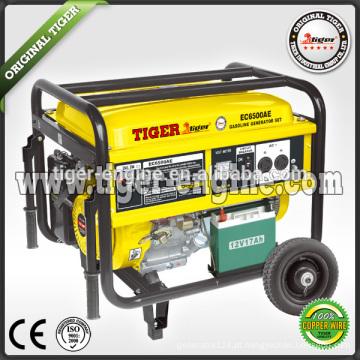 Tiger (China) baixo ruído de boa qualidade 5kw gerador de gasolina