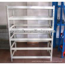 Rack de almacenamiento de tuberías de ángulo de hierro industrial