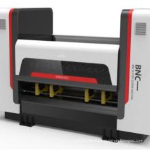 China professional servo type computer thin blade slitter scorer slitting creasing machine zero pressure