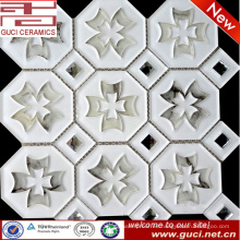 muestras gratis TV Background wall mosaico Glass Tiles en acrílico