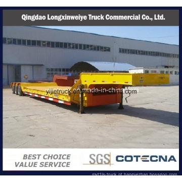 70 ton Heavy Duty semi-reboque Lowbed semireboque