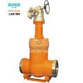 Válvula de compuerta de presión