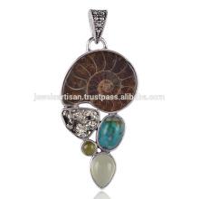 Compra la mejor combinación de amonita, turquesa, pirita y otras piedras