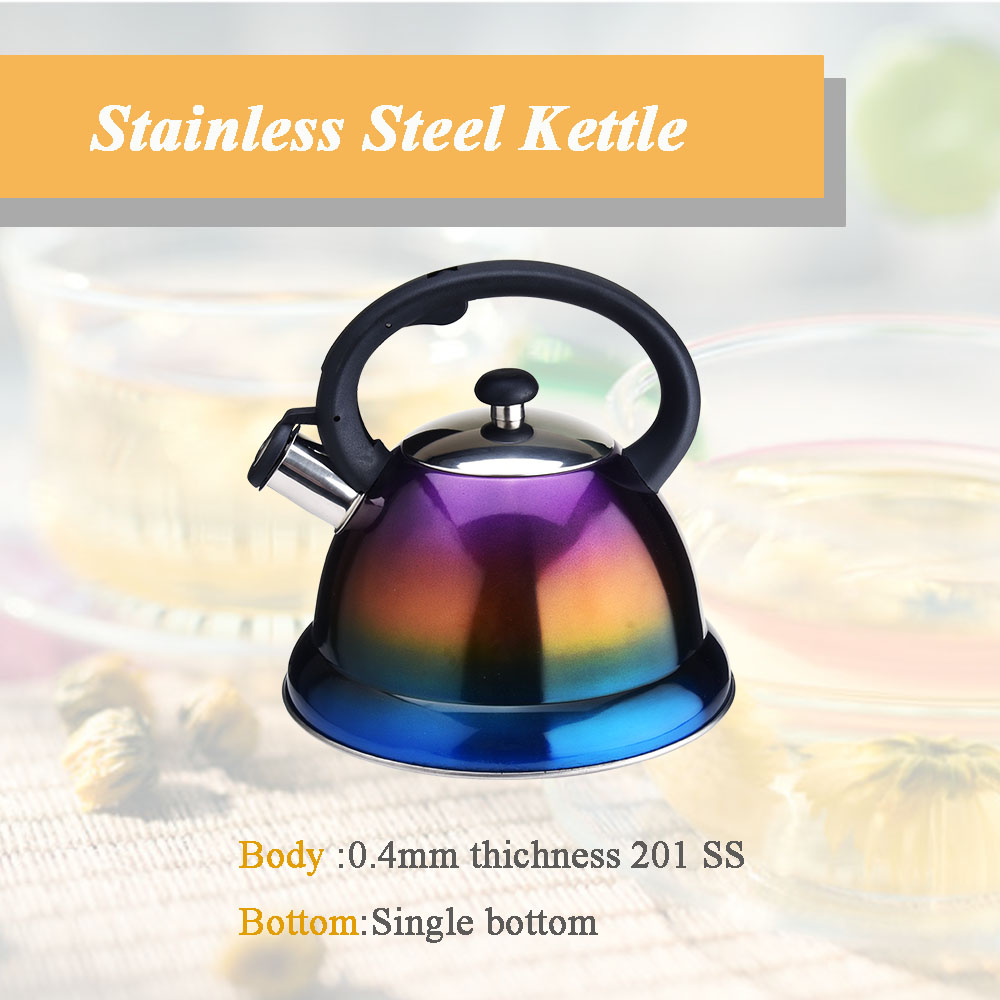gradient color kettle