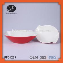 color glazed ceramic deep dish soup bowls