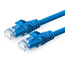 Red de cableado CAT6 de cable de conexión sin blindaje
