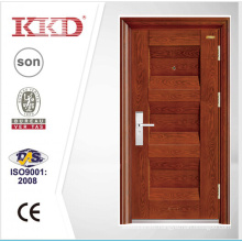 New Mosa Matte Paint Steel Security Door KKD-321 With Steel Convex Carved