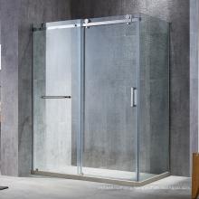 Seawin Bathroom single sliding Door tempered glass rolling Shower Cabin