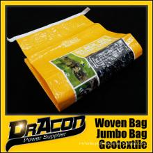 Alta Qualidade Animal Feed BOPP Woven Bag (W-1070)